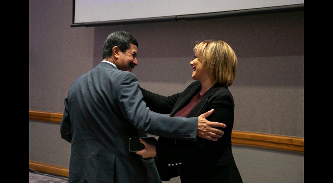 Maru Campos y Javier Corral