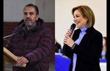 Juan Carlos Loera y Maru Campos