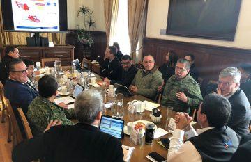 Reunión de la Mesa de Seguridad