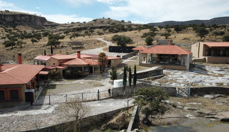 Una de las propiedades de César Duarte