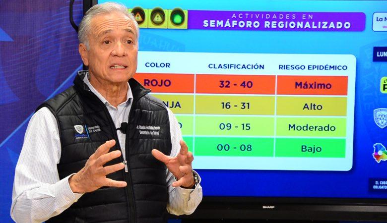 Secretario de Salud anuncia nuevas medidas por el cambio a semáforo amarillo