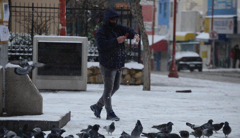 Tormenta invernal en Juárez