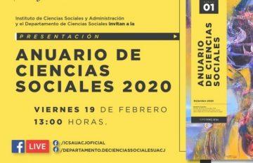 Invitación a la presentación del anuario virtual de la UACJ