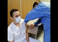 Vacuna Covid de la primera cepa, vacunación de personal de salud