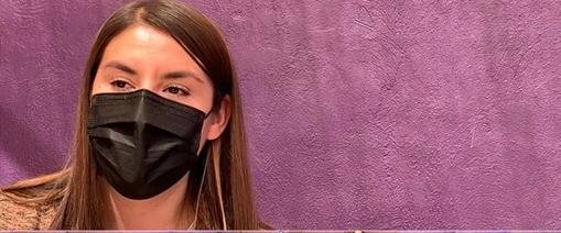 Karla Belmontes, una de las abogadas que defendió a la niña víctima de abuso sexual de un sacerdote católico