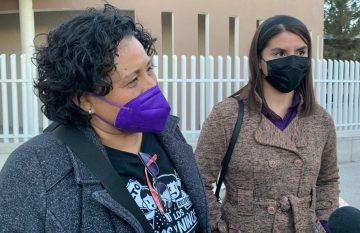 Leticia Valladares y Karla Belmontes, abogadas que participaron en el caso Aristeo