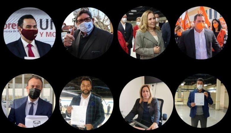 Candidatos por la alcaldía de Juárez