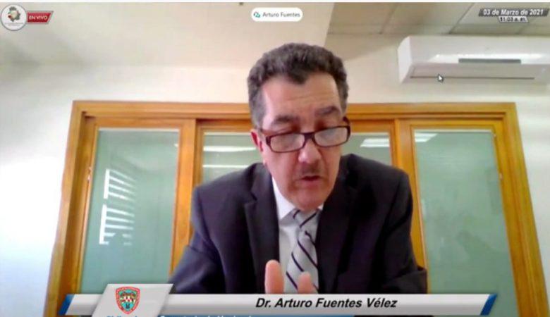 Arturo Fuentes, secretario de Hacienda