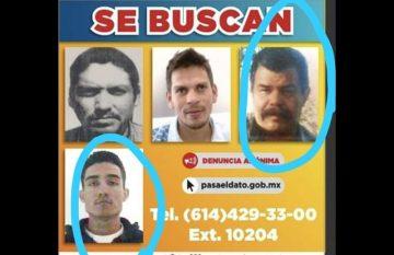 Los presuntos asesinos de Miroslava Breach en un cartel de se busca