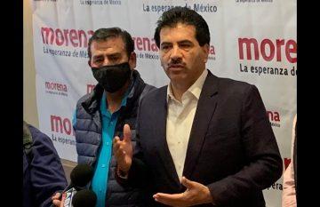 El delegado federal de Morena en Chihuahua, José Ramón Enríquez