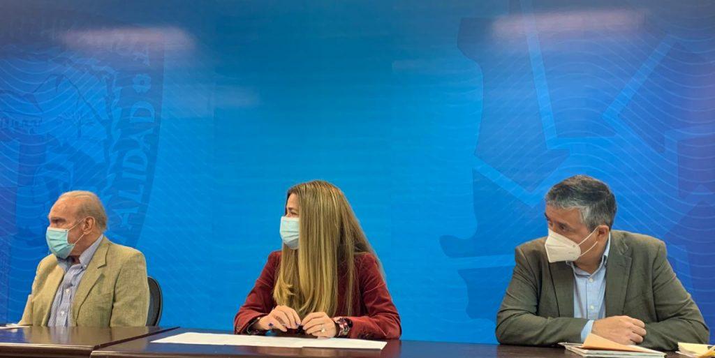 Rueda de prensa sobre obras en la Gómez y la 16