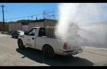 Municipio desinfecta colonias del suroriente