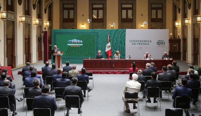 Firma del acuerdo entre gobernadores y presidente para no interferir en las elecciones