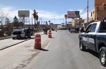 Ataque a estatales en Juárez