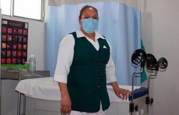 Enfermera del IMSS