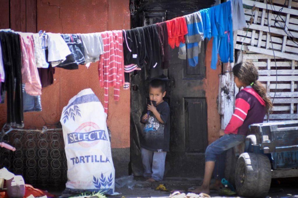 Niños en el suroriente de Juárez