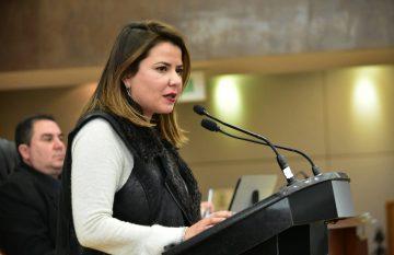 La dipitada Georgina Bujanda propuso una adición para evitar que se aprovechen programas de salud para beneficio electoral