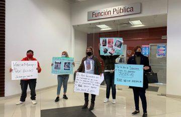 Protesta por Sebastiano en la Función Pública