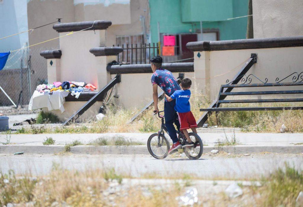 Jóvenes en el suroriente de Juárez