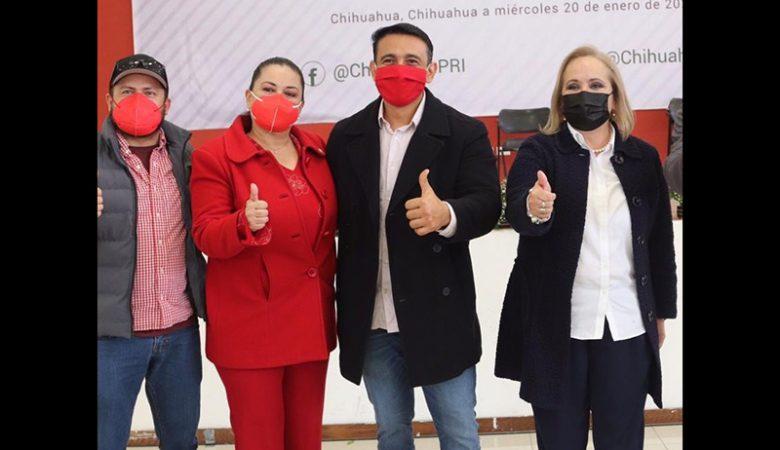 Yuriel Armando González, precandidato a alcalde de Casas Grandes por el PRI