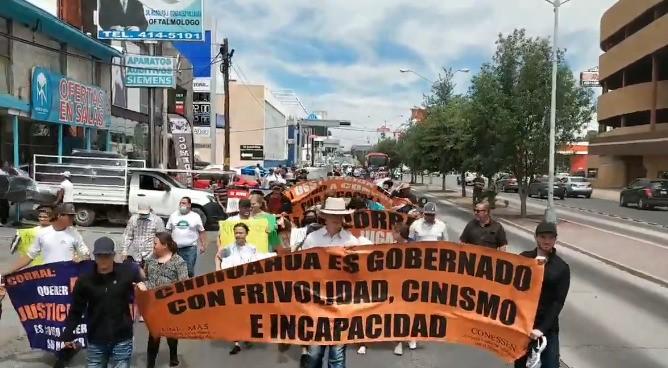 Marcha contra Corral