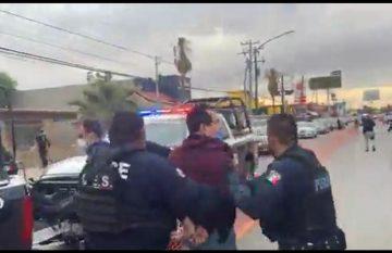 Manifestantes en contra del BRT son arrestados