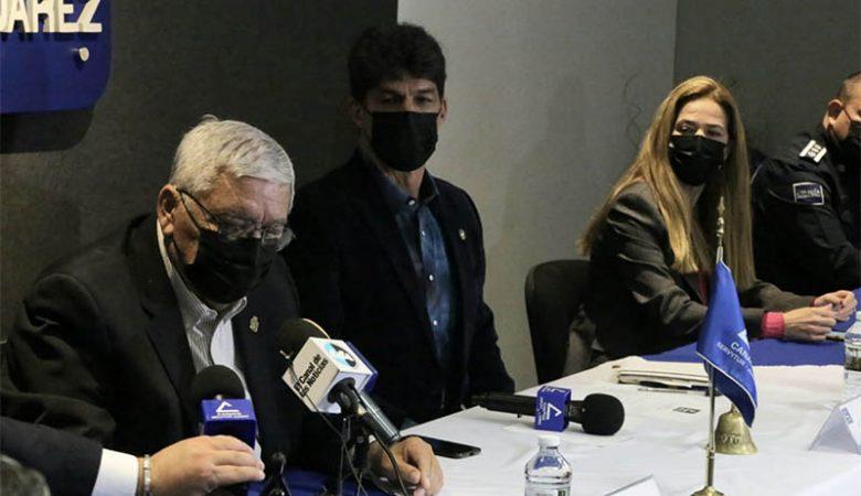 Alcalde y representante del gobernador en Juárez informan de medidas extra en supercierre