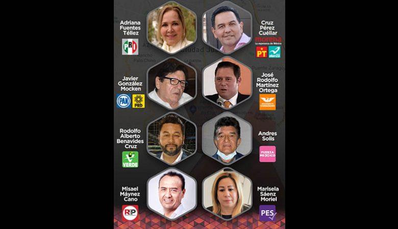 Candidatos por la alcaldía de Juárez, campañas, debate