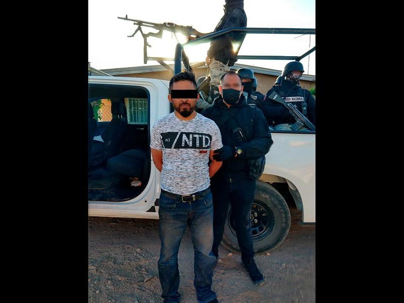 Coma Santos, uno de los presuntos responsables de la masacre contra los LeBarón