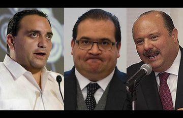 Exgobernadores señalados por corrupción