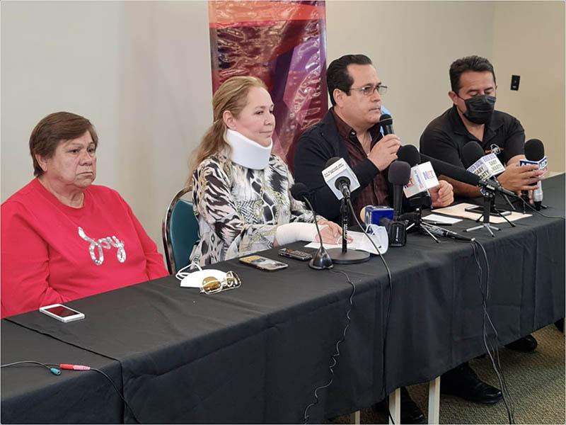 Rueda de prensa de Adriana Fuentes, tras los eventos del BRT