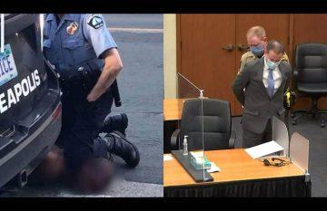 Derek Chavin, el oficial que mató a George Floyd, fue declarado culpable