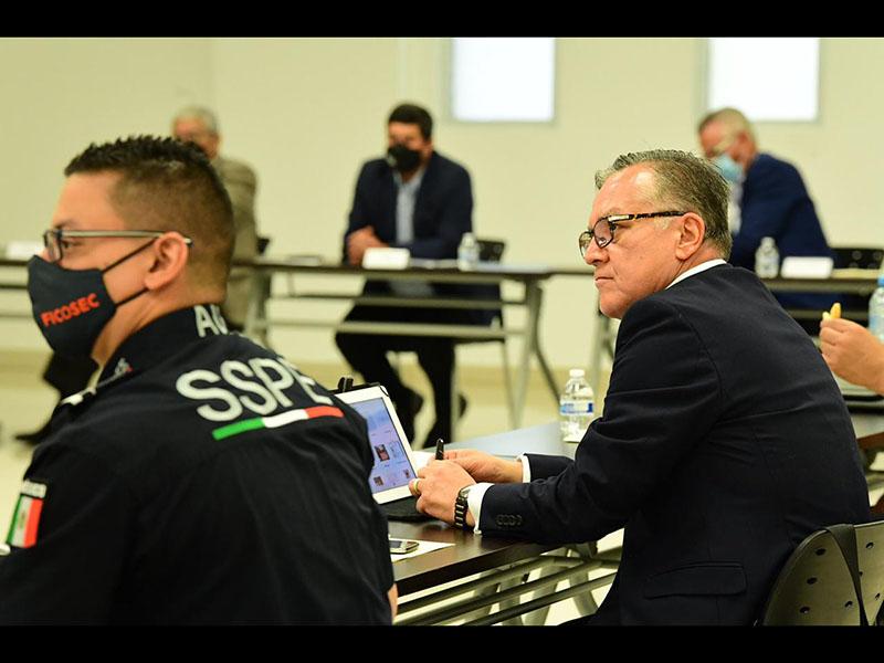 Reunión de la mesa de coordinación