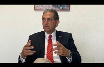 Jorge Bermúdez, presidente del CMIC, cuestionó la calidad de las obras del corredor multimodal