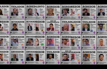 Lista de candidatos acusados de agresión sexual por colectivo feminista