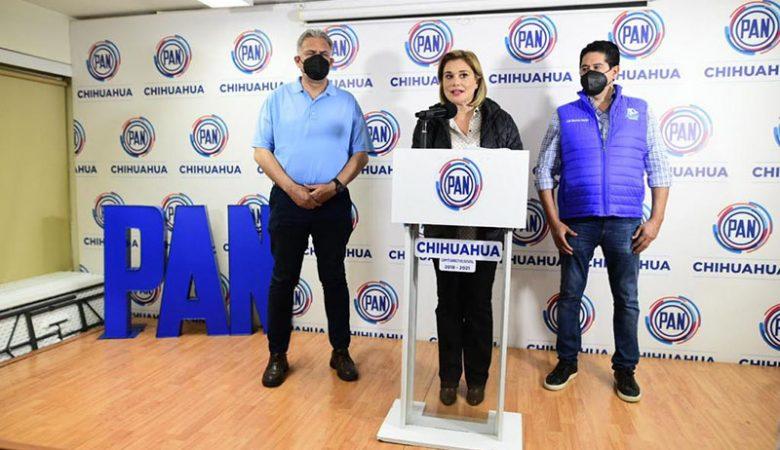 Maru Campos en rueda de prensa