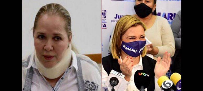 Maru Campos y Adriana Fuentes estuvieron en los escándalos de la semana