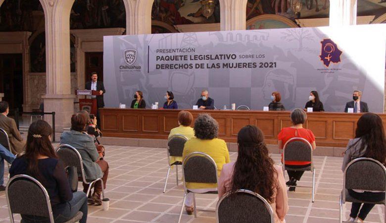 Da entrada el Congreso a paquete de reformas en pro de la mujer