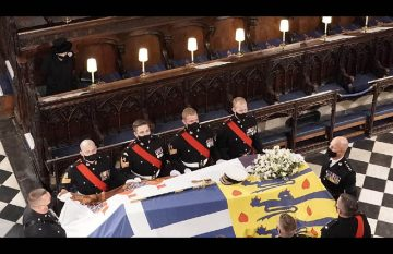 Funeral del príncipe Felipe de Edimburgo