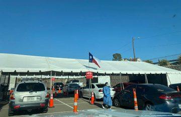 Centro de vacunación Covid en El Paso