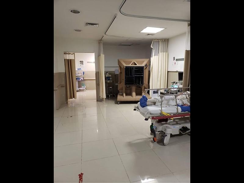 Abanicos en el Hospital de la Mujer