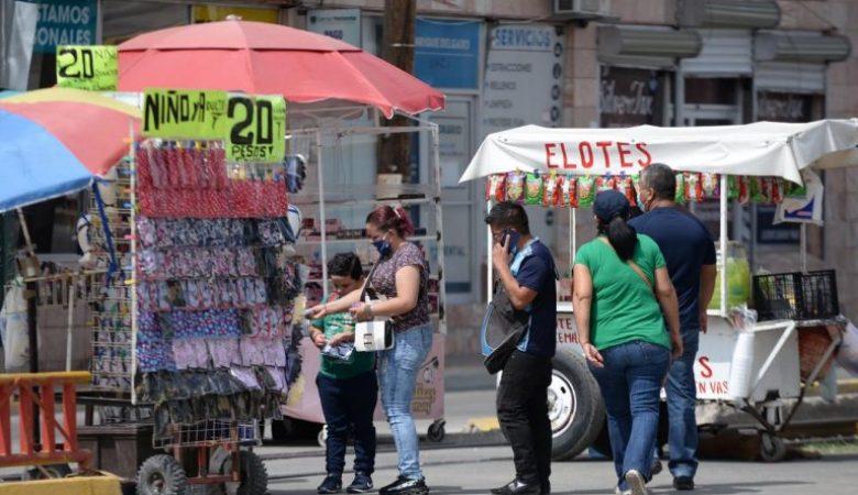 Comercio informal en Chihuahua