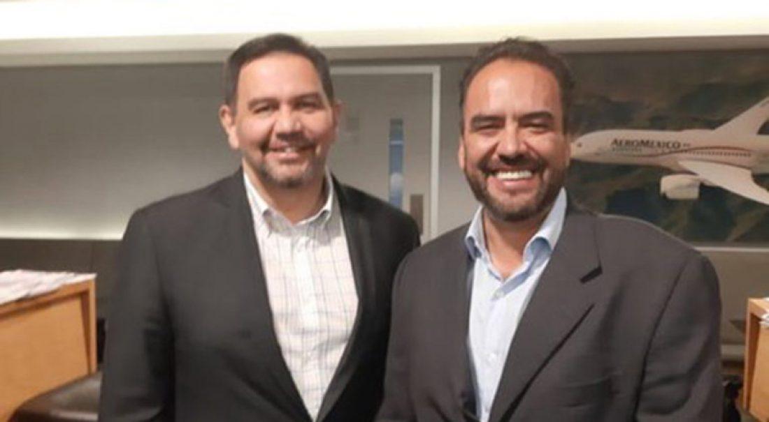 Cruz Pérez Cuéllar y Juan Carlos Loera