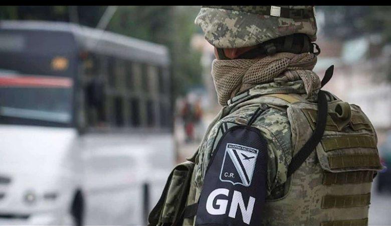 Guardia Nacional, policía; AMLO