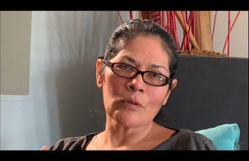Judith Berrout, la mujer que un camión atropelló