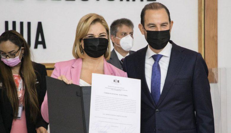 Morena presentó impugnaciones contra Maru Campos, gobernadora electa Maru Campos