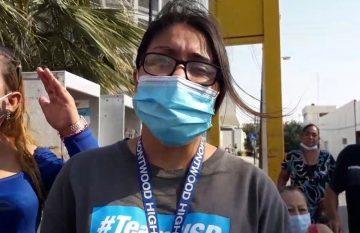 Protesta por falta de hemodiálisis en el Hospital General
