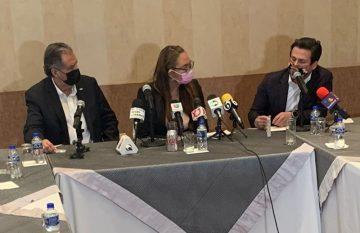 Rueda de prensa del CCE y el IEE Chihuahua