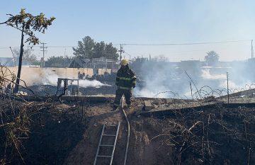 Incendio en la Melchor Ocampo