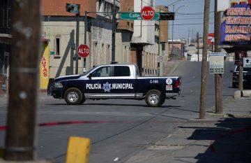 Atauqes a policías; violencia en Ciudad Juárez